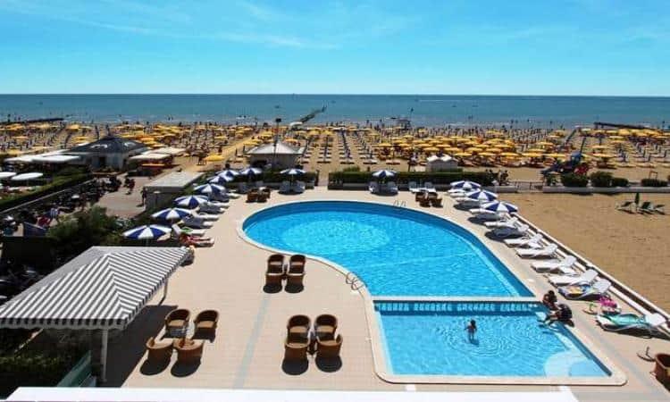 Hotel Jesolo  Stelle Superior Fronte Mare