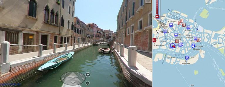 Visita virtuale di Venezia