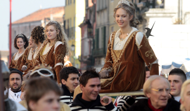 La Festa delle Marie durante il Carnevale di Venezia