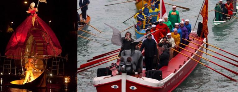 Al via Il Carnevale di Venezia con la Festa Veneziana sull'acqua
