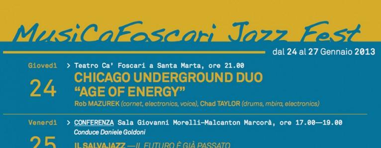 Musica Cafoscari Jazz Fest 2013