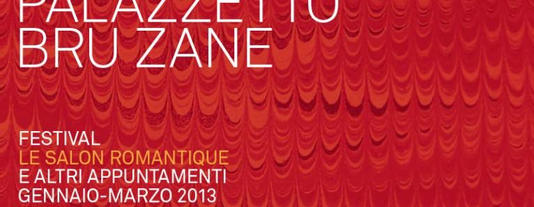 Le Salon Romantique – Palazzetto Bru Zane – Ciclo concerti e conferenze
