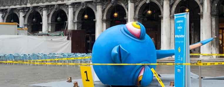 #riptwitter è apparso in Piazza San Marco