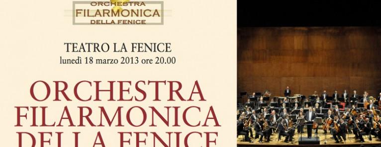 Orchestra Filarmonica della Fenice – Programazione 2013