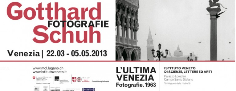 L'Ultima Venezia – Le Fotografie di Gotthard Schuh a Palazzo Loredan