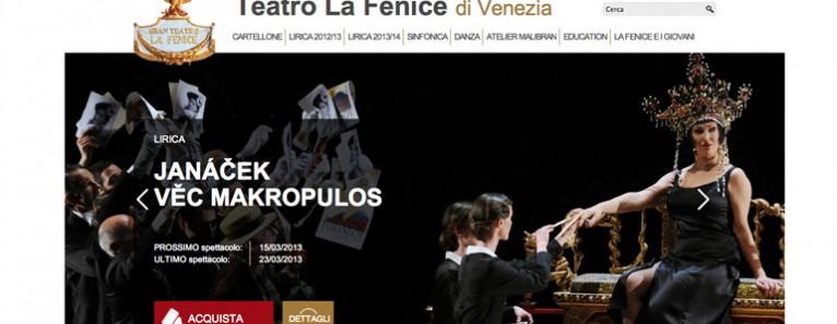 Il Teatro La Fenice ha un nuovo sito!