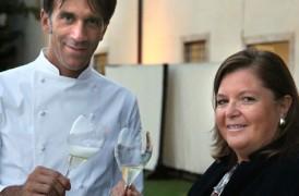 """Lo chef stellato Oldani e Berlucchi, """"Ambasciatori del gusto italiano"""" ad Expo 2015"""