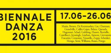 Festival Internazionale di Danza Contemporanea – Biennale 2016