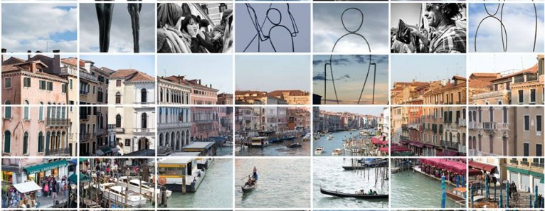Rivus Altus, il panorama di Venezia in 11.354 foto tasselli