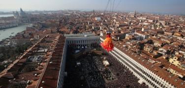 Carnevale di Venezia 2017: Il Volo dell'Angelo