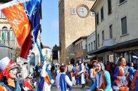 Mestre Carnival Street Show in Piazza Ferretto