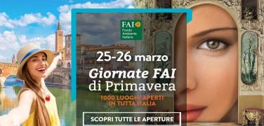 Giornate Fai di Primavera: 25 e 26 marzo 2017 nel veneziano