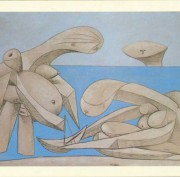 Picasso. Sulla Spiaggia alla Peggy Guggenheim