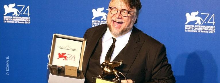"""Leone d'Oro a """"The Shape of Water"""" di Guillermo del Toro  All'Italia Coppa Volpi e Miglior Film sezione Orizzonti."""