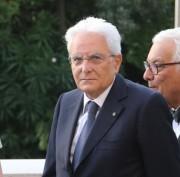 Il Presidente della Repubblica Mattarella all'inaugurazione della 74. Mostra Internazionale d'Arte Cinematografica ed in visita alla Biennale Arte.