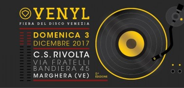 Torna VENYL per la 5ª edizione della Fiera del Disco di Venezia