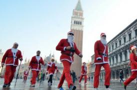 Venezia corre! Corsa dei Babbi Natale, 17 Dicembre 2017