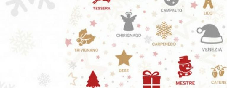 Le città in festa: arriva il Natale a Venezia, Mestre e provincia