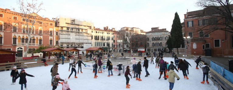VENICE ON ICE: le piste da pattinaggio a Venezia, Mestre e Marghera