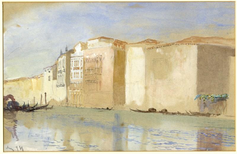 Le pietre di Venezia. Mostra dedicata a Ruskin a Palazzo Ducale