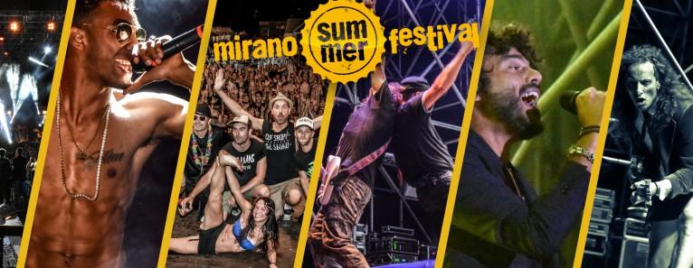 MIRANO SUMMER FESTIVAL 2018. Il programma.