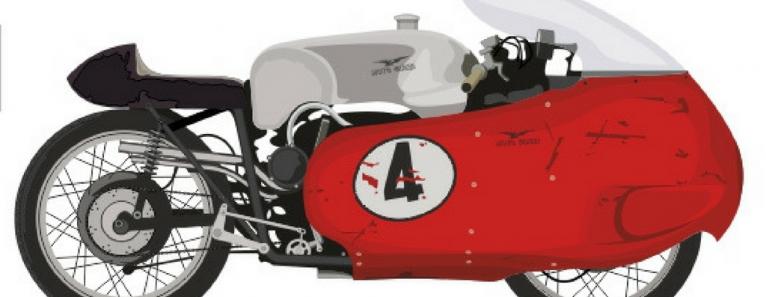Motocicletta.L'architettura della velocità. Mostra sui bolidi a due ruote a Forte Marghera