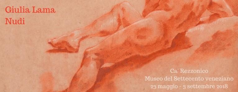 Giulia Lama. Gli studi di nudo della poetessa e pittrice fino al 3 Settembre a Ca' Rezzonico