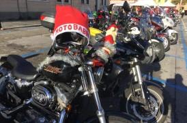MOTOBABBO 2018. La 15° sfilata dei Babbi in moto a Mirano l'8 Dicembre