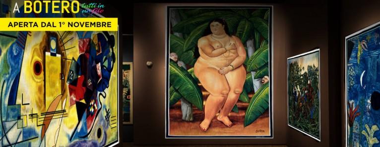 'Da Kandinsky a Botero tutti in un filo' in mostra a Venezia fino a maggio 2019