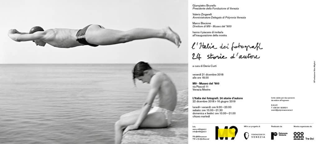 """""""L'Italia dei fotografi. 24 storie d'autore"""": fino a fine Giugno all'M9 la mostra prodotta dalla Casa dei Tre Oci"""