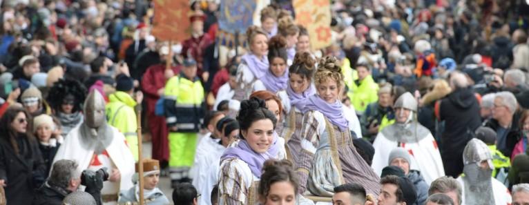 CARNEVALE 2019. FESTA DELLE MARIE. Sabato 23 Febbraio il corteo delle bellezze veneziane