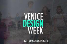 VENICE DESIGN WEEK. Il programma completo dal 12 al 20 Ottobre