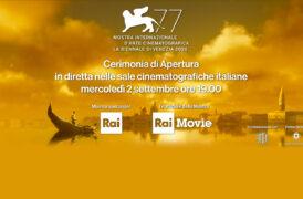 Cerimonia di Apertura 77^ Mostra del Cinema di Venezia