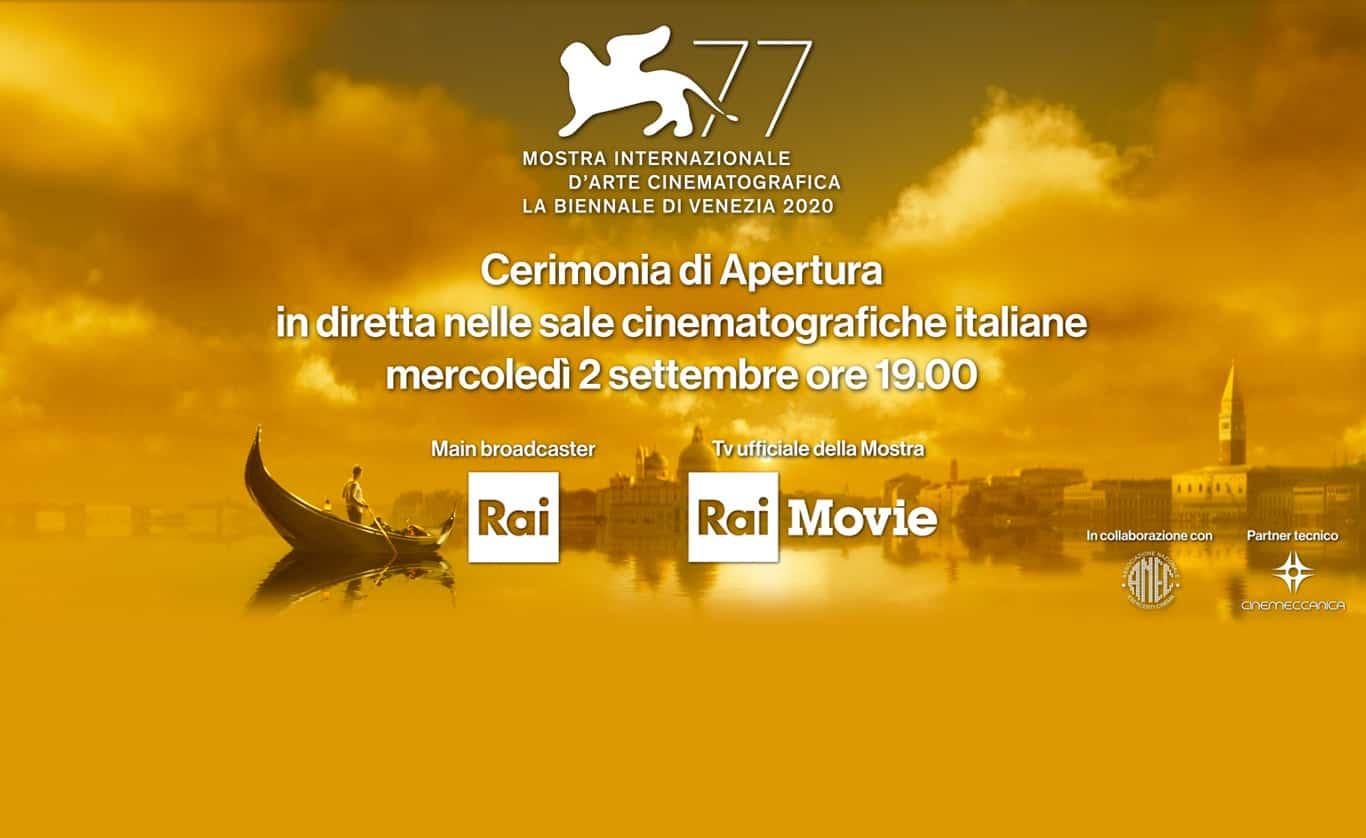 Cerimonia di apertura della 77^ Mostra del Cinema di Venezia