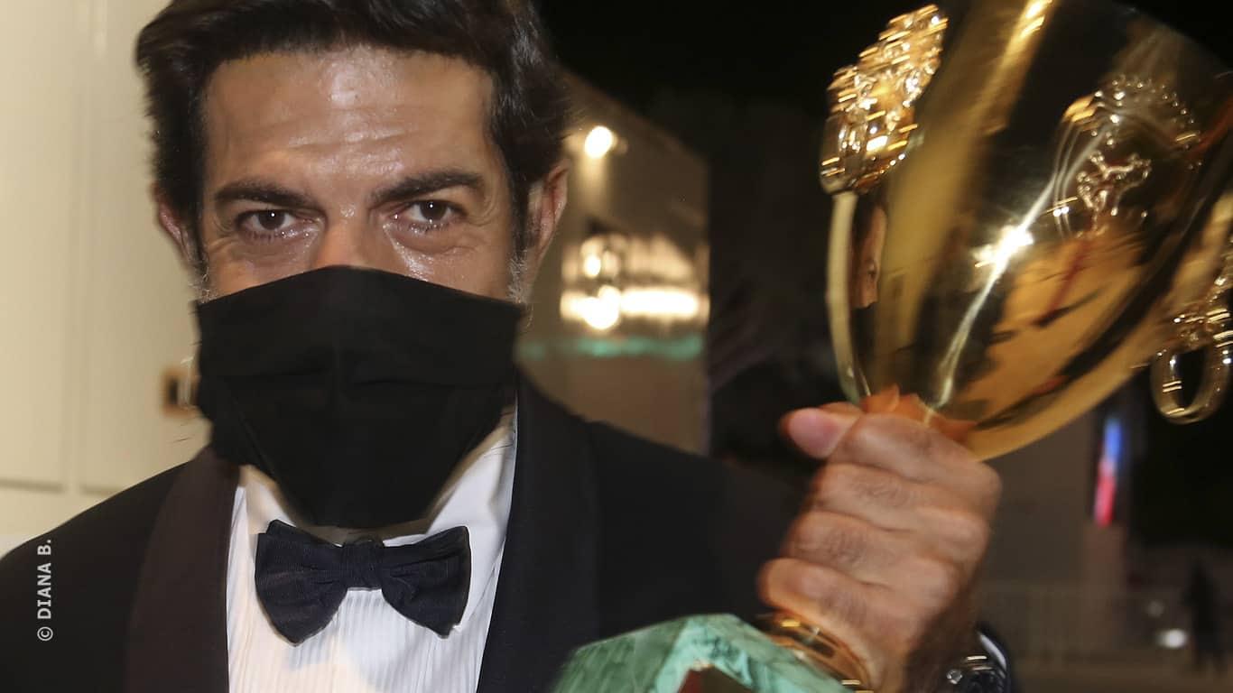 #Venezia77. L'Italia vince la Coppa Volpi con Pierfrancesco Favino